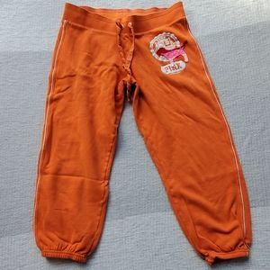 VS Pink Capri Sweatpants